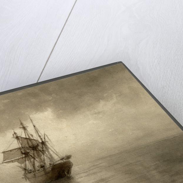 Sailing ship, 1892 by Lev Felixovich Lagorio