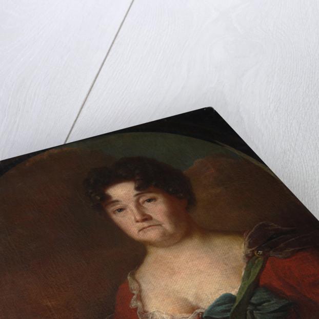 Portrait of Countess Anastasia Petrovna Golitsyna, née Prozorovskaya, 1728 by Andrei Matveyevich Matveyev