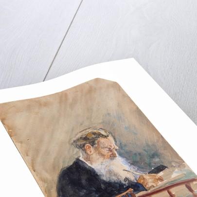 Portrait of the author Leo N. Tolstoy by Ilya Yefimovich Repin