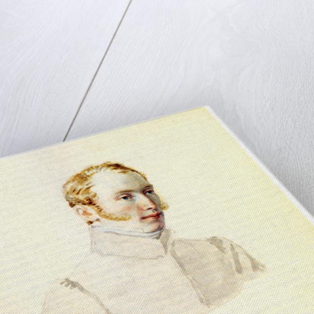 Portrait of Decembrist Baron Andrei von Rosen, 1832 by Nikolai Alexandrovich Bestuzhev
