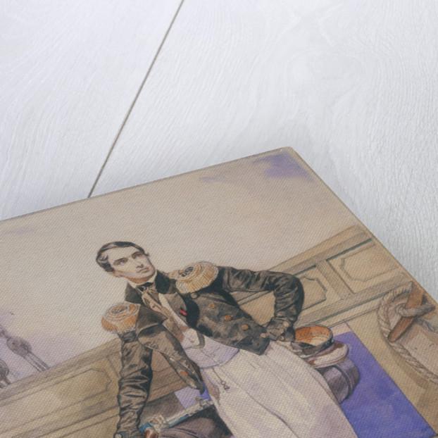 Vladimir Alexeyevich Kornilov aboard the brig Themistocles, 1835 by Karl Pavlovich Briullov