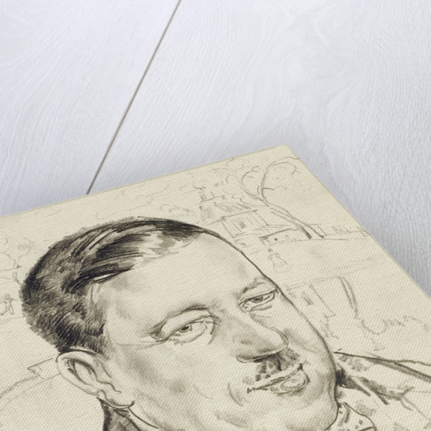 Portrait of the artist Ilya Mashkov by Boris Dmitryevich Grigoriev