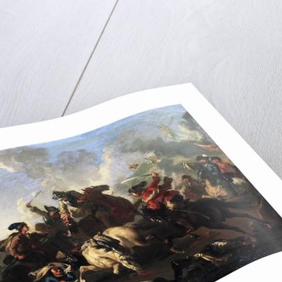 Scene from the battle of Poltava by Alexander von Kotzebue