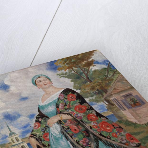Merchants Wife, 1923 by Boris Michaylovich Kustodiev