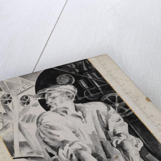 The Machinist, 1920s by Nikolai Andreyevich Tyrsa