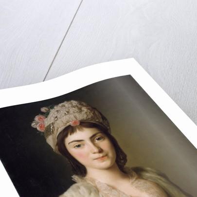 Portrait of Zoie Ghica, the Princess of Moldavia, 1777 by Alexander Roslin