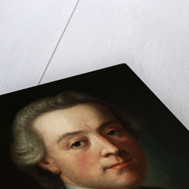 Portrait of the composer Wolfgang Amadeus Mozart (1756-1791) by Anonymous