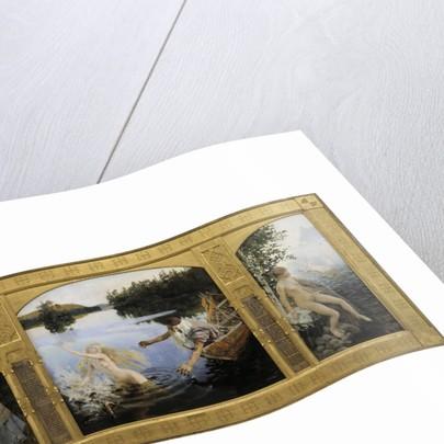 The Aino Triptych, 1891 by Akseli Gallen-Kallela