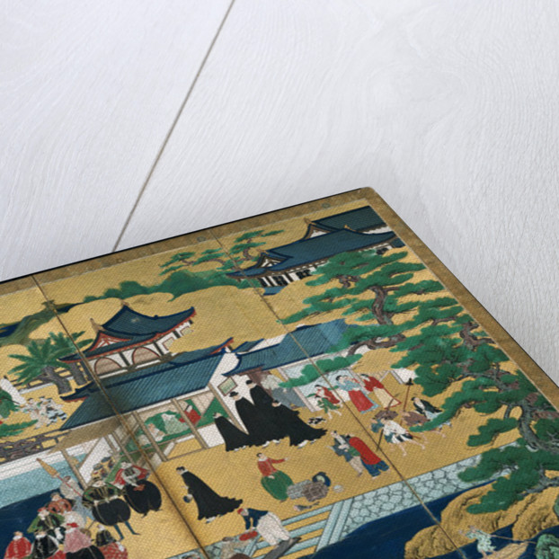 Namban Screens, First third of 17th cen by Kano Sanraku