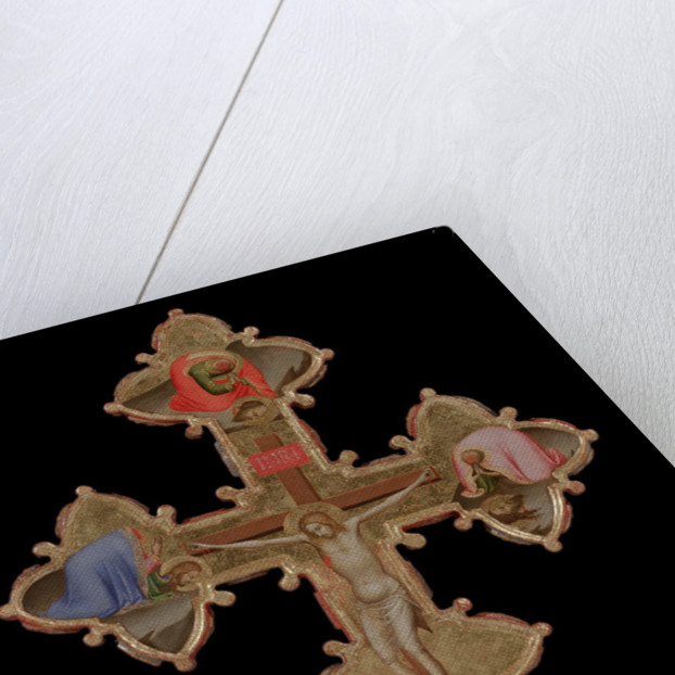 Portable, Double Sided Cross (verso), 1335-1340 by Bernardo Daddi
