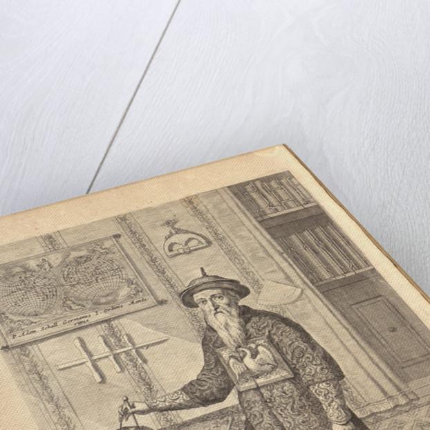 Johann Adam Schall von Bell. (From Athanasius Kirchers China Illustrata), 1667 by Athanasius Kircher