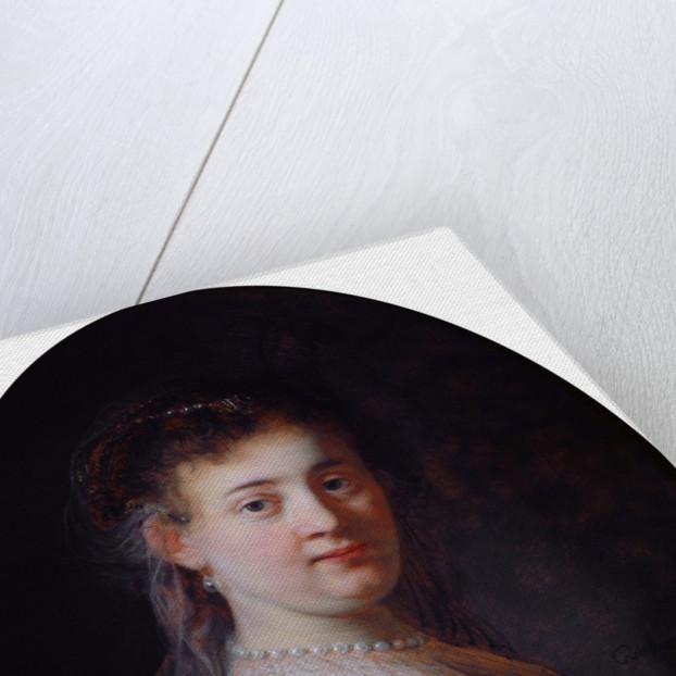 Portrait of Saskia van Uylenburgh, 1633 by Rembrandt van Rhijn