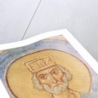 King David, 12th century by Ancient Russian frescos