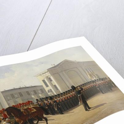 The Leib Guard Izmailovo Regiment, 1846 by Adolphe Ladurner