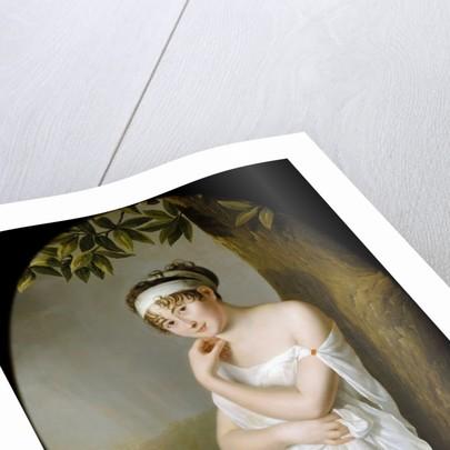 Portrait of Madame Récamier, née Julie Bernard by Eulalie Morin