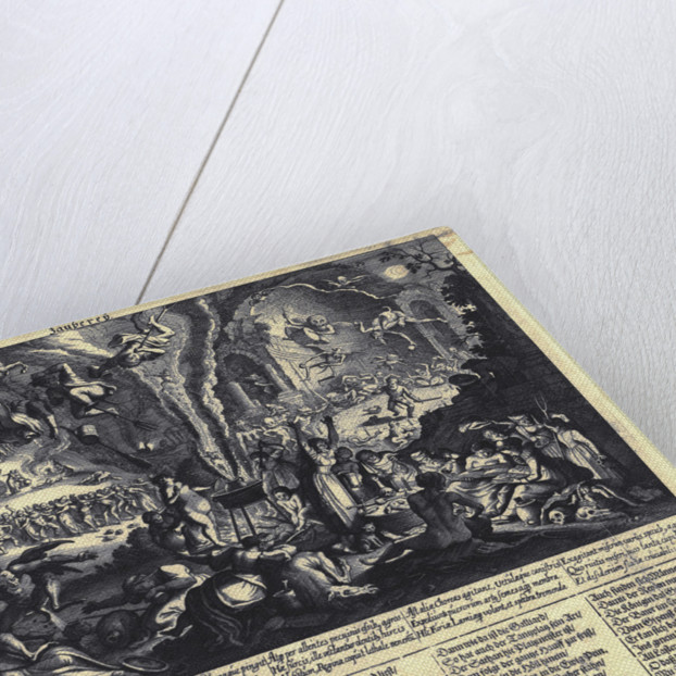 The Witches Sabbat by Matthäus Merian the Elder