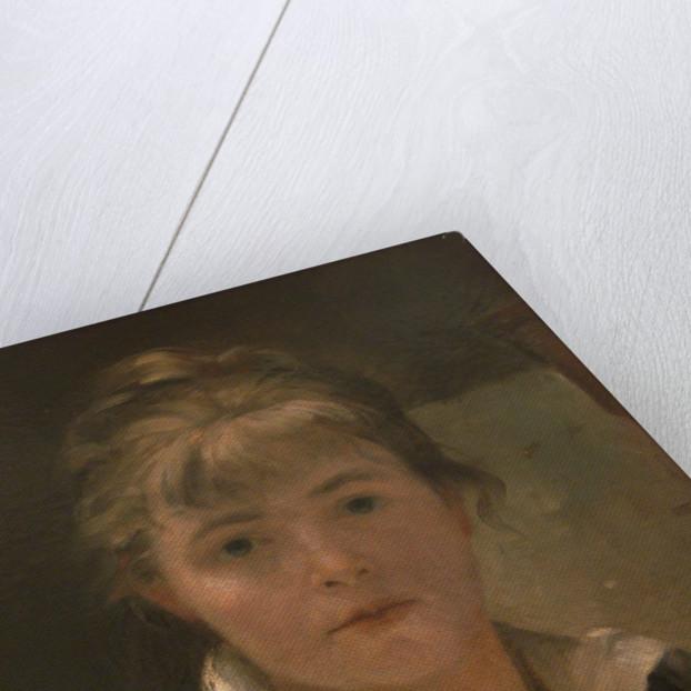 Self-Portrait (Detail) by Maria Konstantinovna Bashkirtseva