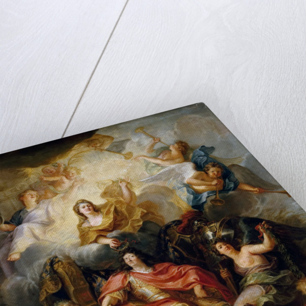 The glorification of Louis XIV by Antoine Coypel