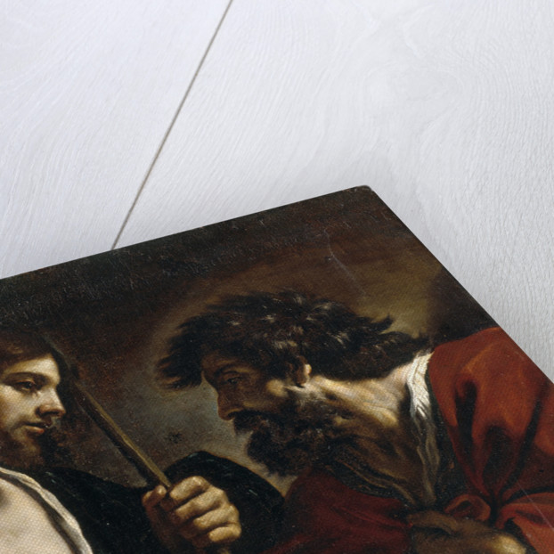 The Incredulity of Saint Thomas by Guercino