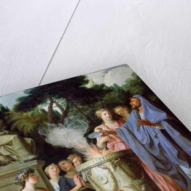 Sacrifice to Jupiter by Noël Coypel