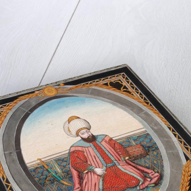 Portrait of Sultan Murad II by Anonymous