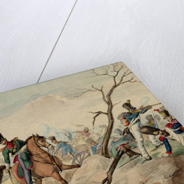 An Episode from the Battle of Leipzig by Anonymous