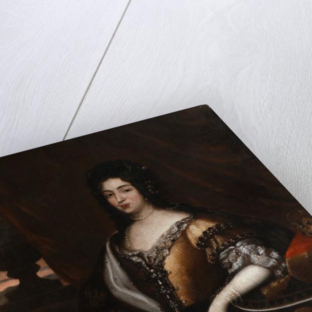 Portrait of Queen Marie Casimire by Jan Tricius