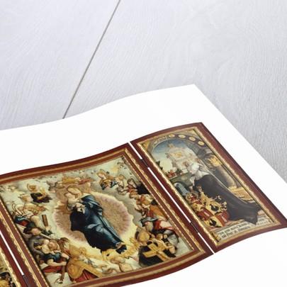 The Wildenstein Altarpiece (open) by Master of Messkirch