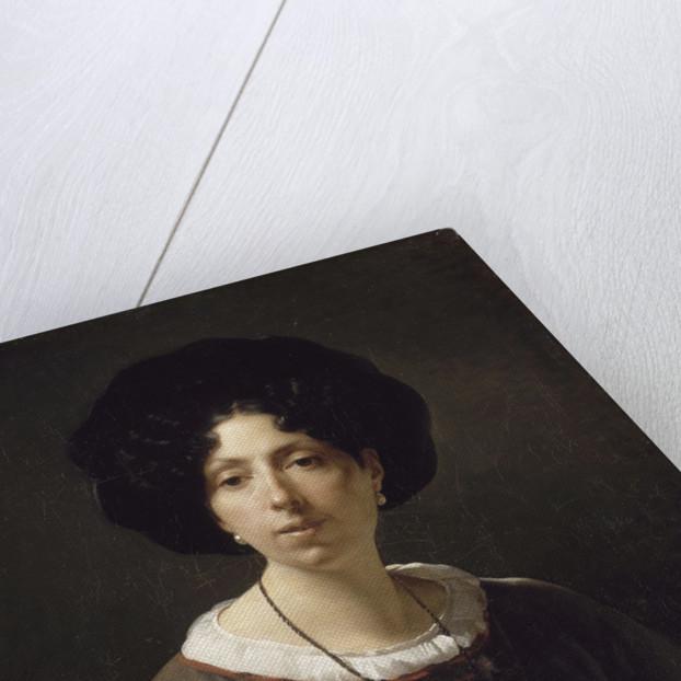 Self-Portrait by Hortense Haudebourt-Lescot