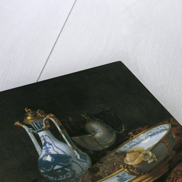 Still life with Nautilus Cup by Willem Kalf