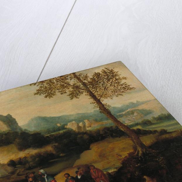 Landscape with Saint John the Baptist Preaching by Henri de Patinier
