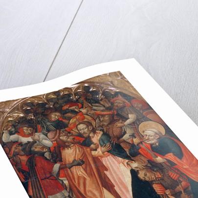 The Kiss of Judas by Master of Retascón