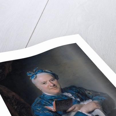Portrait of Pierre-Louis Laideguive by Maurice Quentin de La Tour