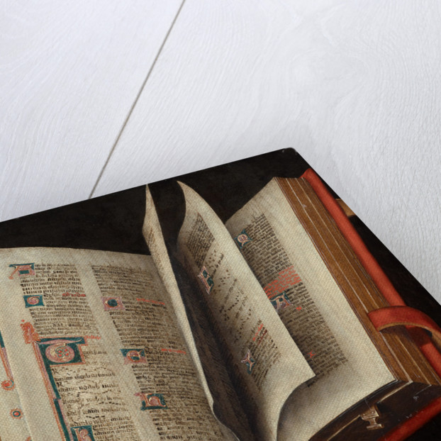 An Opened Liturgical Book by Anonymous