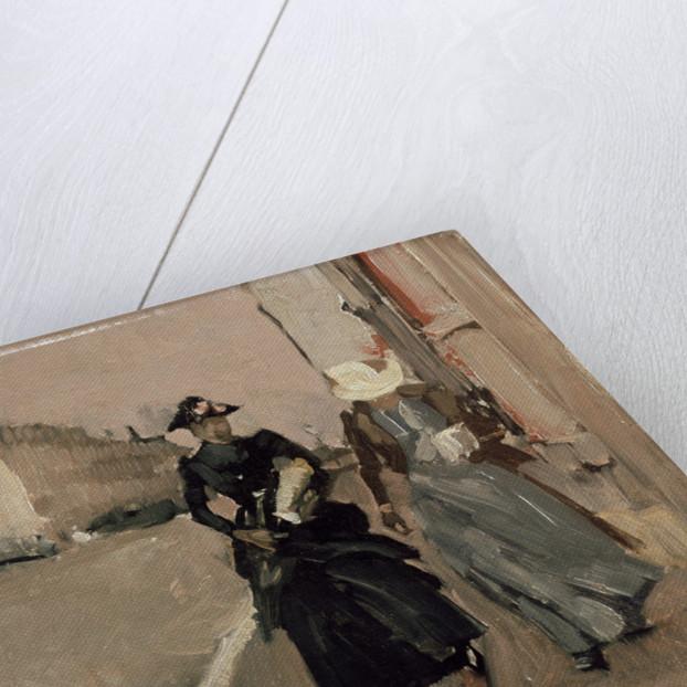 Gust of wind by George Hendrik Breitner