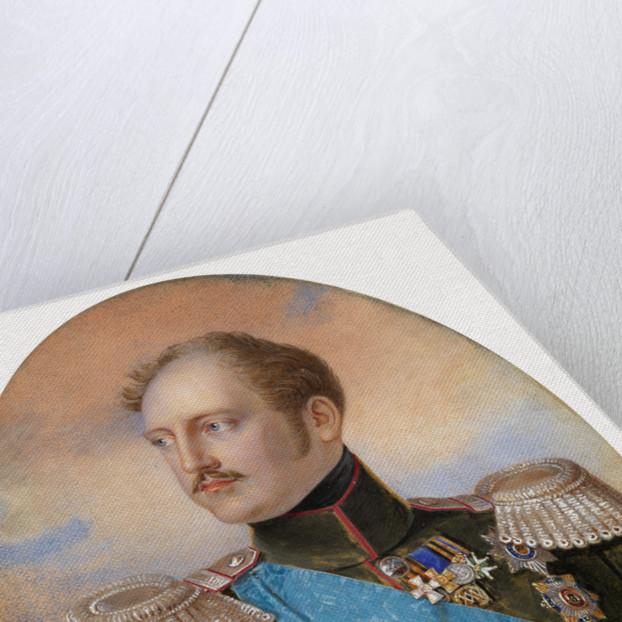 Portrait of Emperor Nicholas I by Ivan Andreyevich Winberg