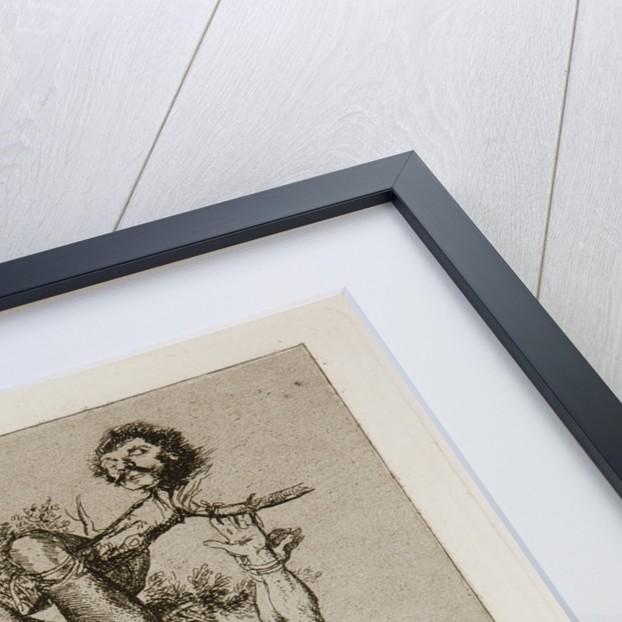 Grande hazaña! Con muertos! (A heroic feat! With dead men!) Plate 39 from The Disasters of War (Los by Francisco de Goya
