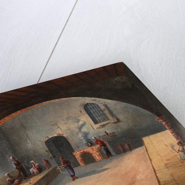 The Algerian Café by Eduardo Flores Ibáñez