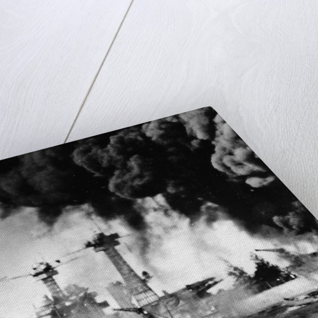 Pearl Harbor on December 7, 1941 by Anonymous