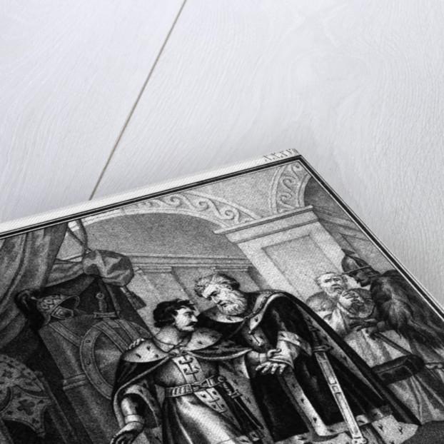 Iziaslav II Mstislavich and Viacheslav I Vladimirovich. 1151 (From Illustrated Karamzin), 1836 by Boris Artemyevich Chorikov
