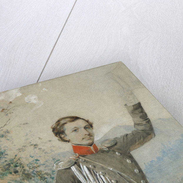Portrait of Semyon Dmitrievich Lisanevich, 1847-1849 by G.V. Corradini