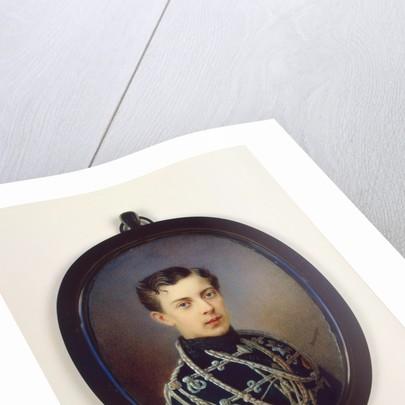 Portrait of Tsarevich Nicholas Alexandrovich of Russia (1843?1865), c. 1861 by Alois Gustav Rockstuhl