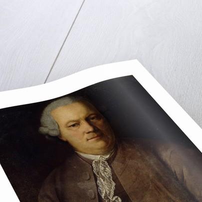 Portrait of A. von Berg, 1772 by Heinrich Buchholz
