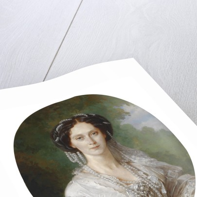 Portrait of Maria Alexandrovna, Empress of Russia, 1857 by Franz Xavier Winterhalter