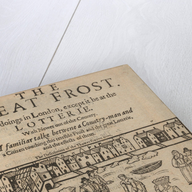 The great frost in London, 1608 by Anonymous