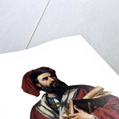 Marco Polo, 1867 by Enrico Podio