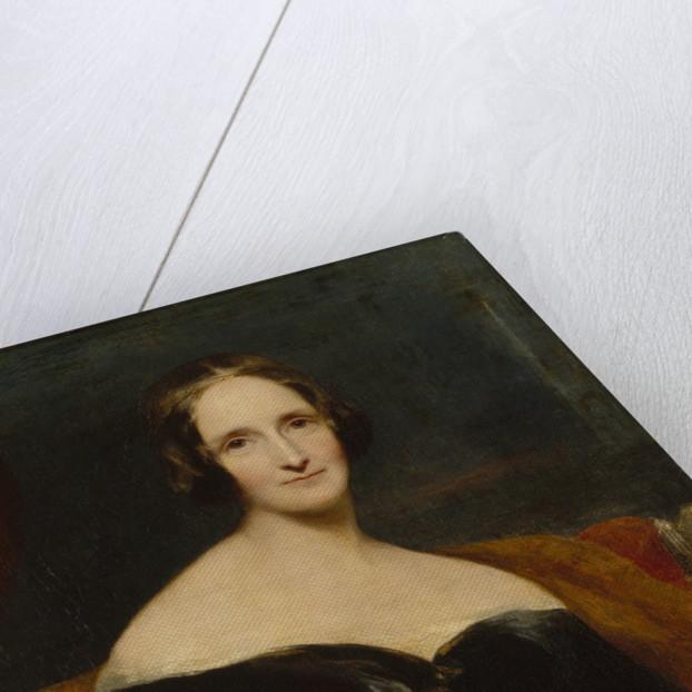 Mary Shelley, 1840 by Richard Rothwell