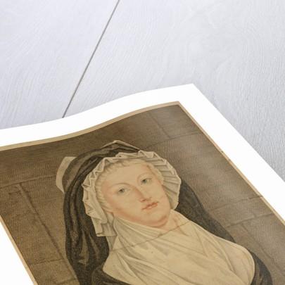 Marie Antoinette at the Conciergerie as Prisoner, 1793 by Jean-Louis Prieur
