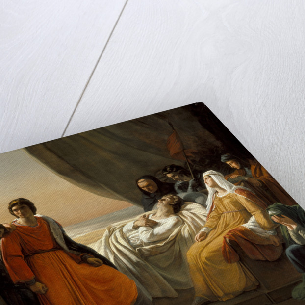 The Death of Saint Louis, c. 1817 by Ary Scheffer