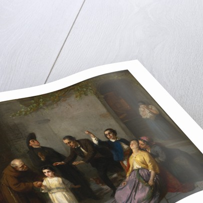 The Kidnapping of Edgardo Mortara, 1862 by Moritz Daniel Oppenheim